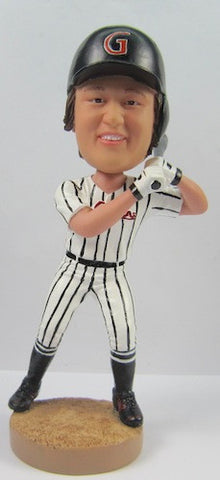 Male Baseball Player #5 - National Bobblehead HOF Store