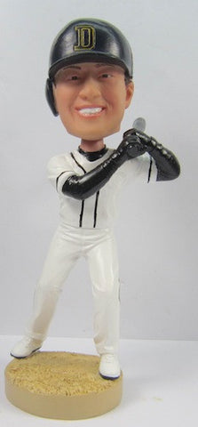 Male Baseball Player #7 - National Bobblehead HOF Store