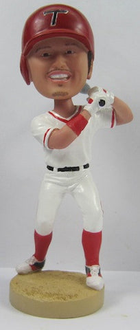 Male Baseball Player #9 - National Bobblehead HOF Store
