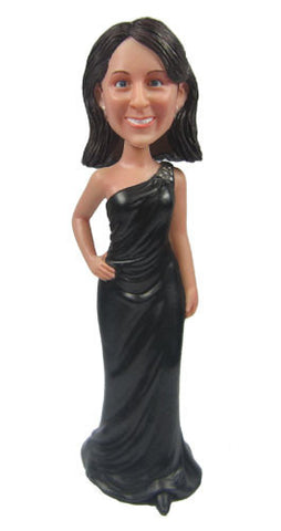 Elegant Dress Bobblehead #2 - National Bobblehead HOF Store