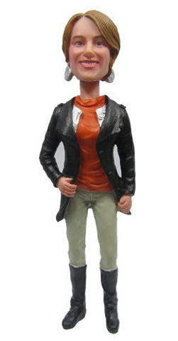Casual Female Bobblehead #10 - National Bobblehead HOF Store