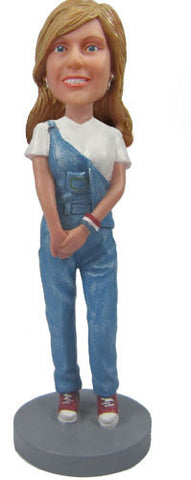 Casual Female Bobblehead #2 - National Bobblehead HOF Store