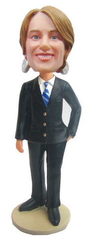 Business Woman Bobblehead #3