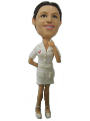 Female Nurse Bobblehead