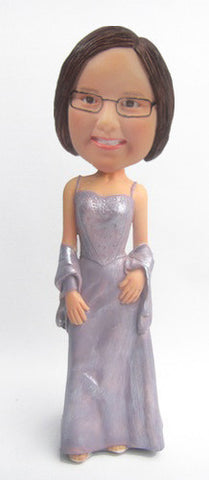 Elegant Dress Bobblehead #5 - National Bobblehead HOF Store