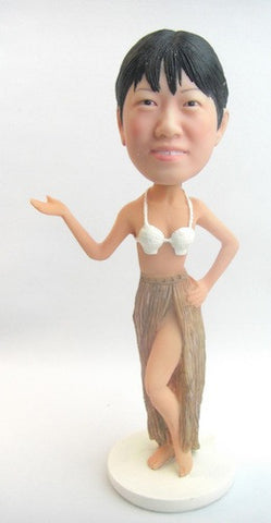 Hawaiian Woman - National Bobblehead HOF Store
