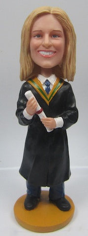 Graduation Female Bobblehead #4