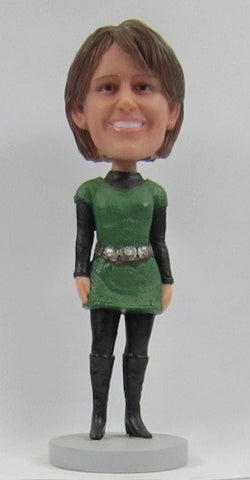 Casual Female Bobblehead #28 - National Bobblehead HOF Store