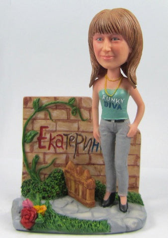 Female Diva Bobblehead