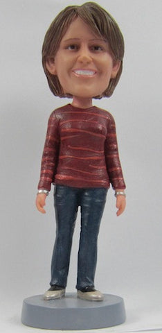 Casual Female Bobblehead #36