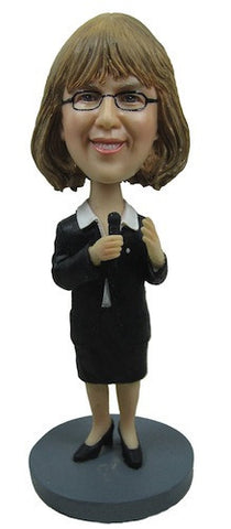 Business Woman Bobblehead #9