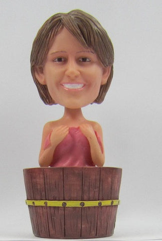 Female Bathtub Bobblehead