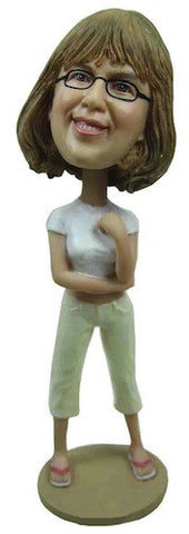 Business Woman Bobblehead #11