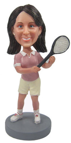 Female Tennis Player - National Bobblehead HOF Store
