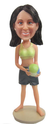 Female Volleyball Player - National Bobblehead HOF Store