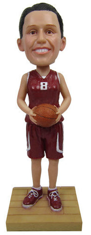 Female Basketball Player #1 - National Bobblehead HOF Store