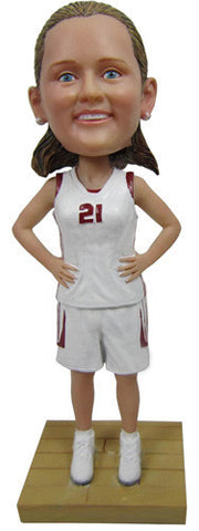 Female Basketball Player #2 - National Bobblehead HOF Store