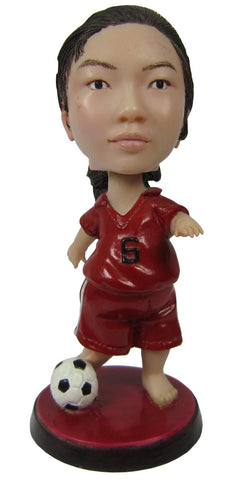 Female Soccer Player - National Bobblehead HOF Store