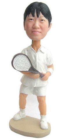 Female Badminton Player - National Bobblehead HOF Store