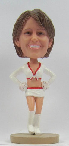 Female Cheerleader #2 - National Bobblehead HOF Store