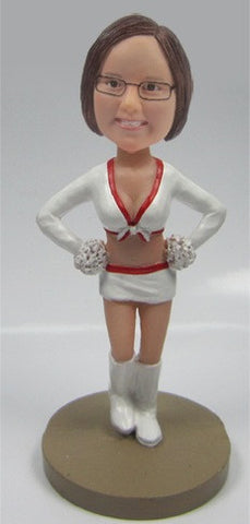 Female Cheerleader #1 - National Bobblehead HOF Store