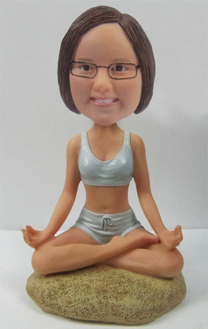 Yoga Female Bobblehead #3