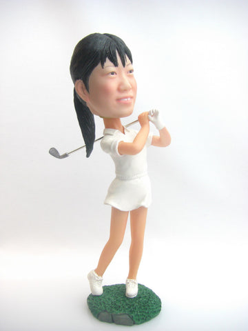 Female Golfer #2 - National Bobblehead HOF Store