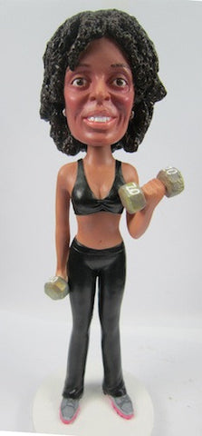 Female Body Builder - National Bobblehead HOF Store