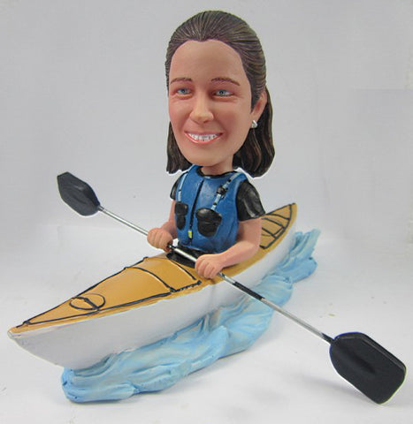 Female Kayaker - National Bobblehead HOF Store