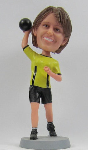 Female Bowler - National Bobblehead HOF Store