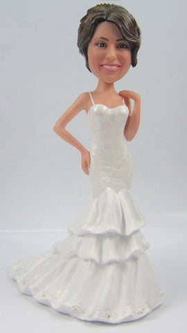 Bride Bobblehead #1 - National Bobblehead HOF Store