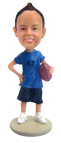 Football Player Bobblehead #2