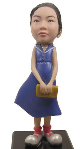 Blue Dress Girl - National Bobblehead HOF Store