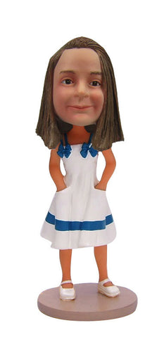 White Dress Girl - National Bobblehead HOF Store