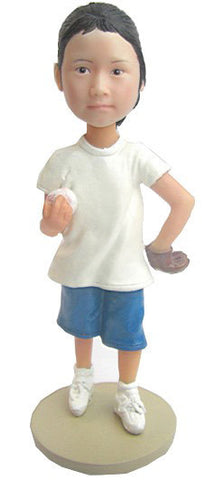 Baseball Female Child - National Bobblehead HOF Store