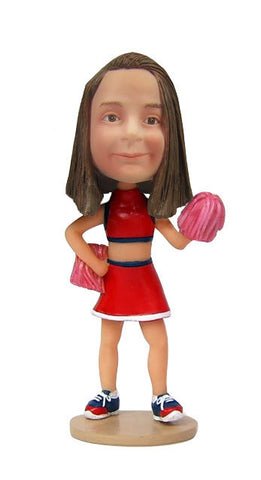 Cheerleader Girl - National Bobblehead HOF Store