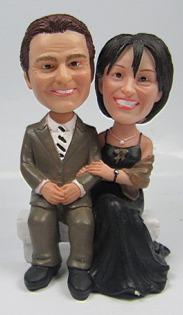 Formal Couple #5 - National Bobblehead HOF Store
