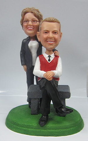 Formal Couple #6 - National Bobblehead HOF Store