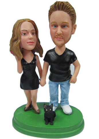 Casual Couple #9 - National Bobblehead HOF Store