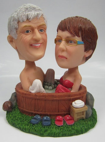 Classic Collectable Styled Couple Bobbleheads #8