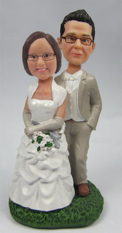 Wedding Couple Bobblehead #10 - National Bobblehead HOF Store