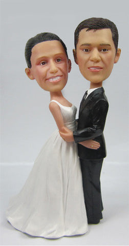Wedding Couple Bobblehead #12