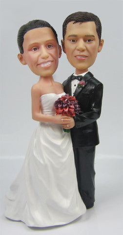 Wedding Couple Bobblehead #13