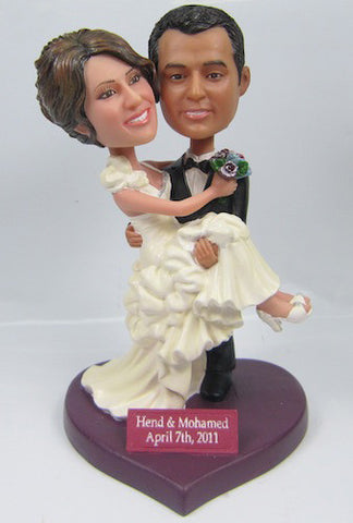 Wedding Couple Bobblehead #15 - National Bobblehead HOF Store