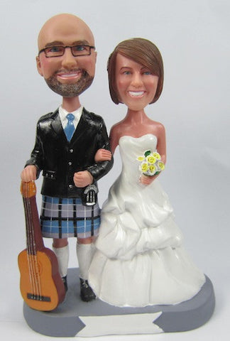 Wedding Couple Bobblehead #25