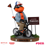 Baltimore Orioles - The Oriole Bird - Mascot on Bike