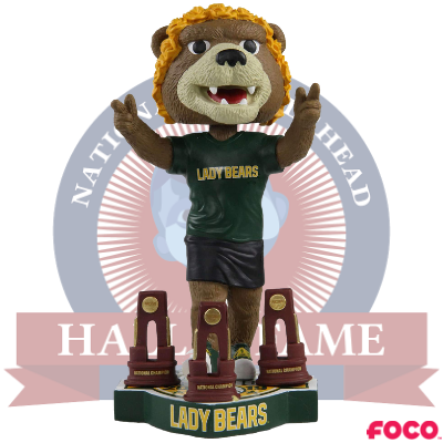 Baylor Lady Bears 3-Time NCAA Women's Basketball National Champions Bobblehead (Presale)