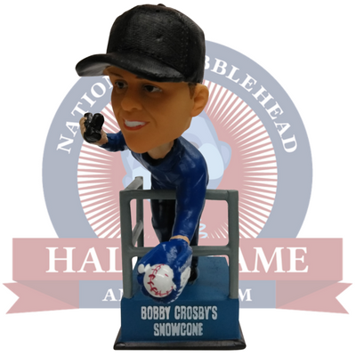Bobby Crosby Snow Cone Catch Bobblehead - National Bobblehead HOF Store
