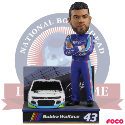 Bubba Wallace Race Day Bobblehead