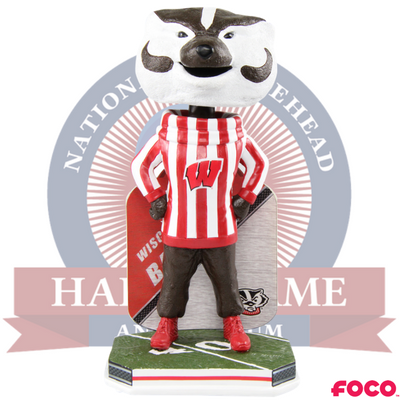 Bucky Badger Wisconsin Badgers Mascot Bobblehead